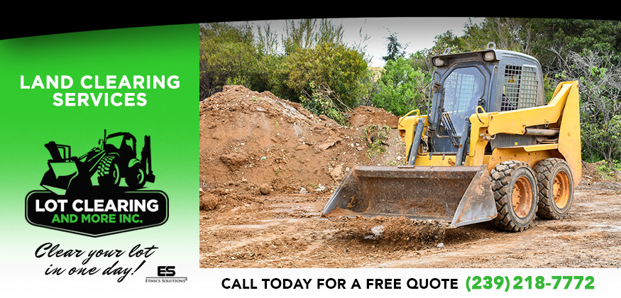Land Clearing Services in and near Fort Myers Florida