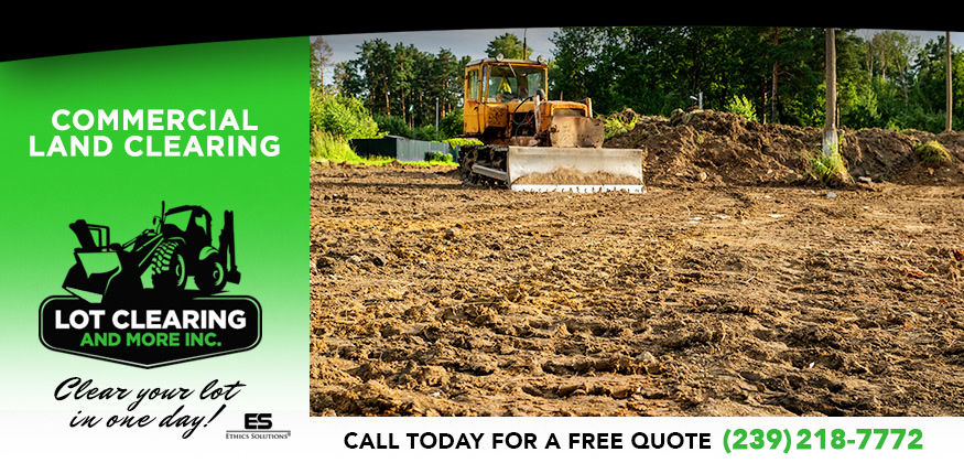 Commercial Land Clearing in and near Lehigh Acres Florida